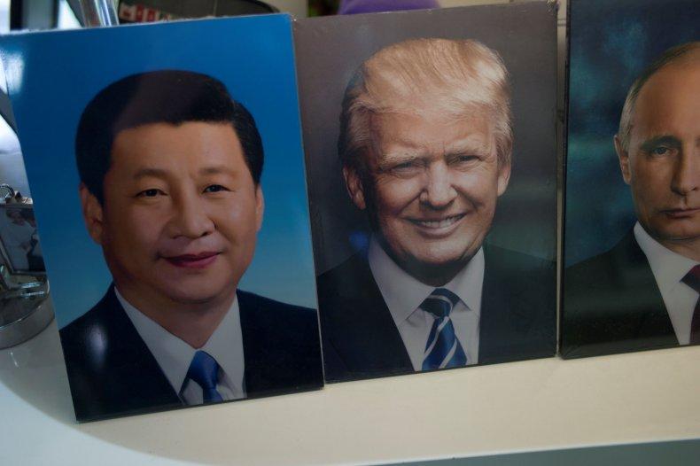Trump, Xi and Putin