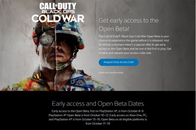 black ops cold war beta xfinity request