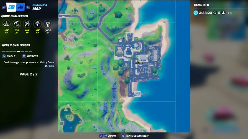 fortnite 2020 birthday cake location 8