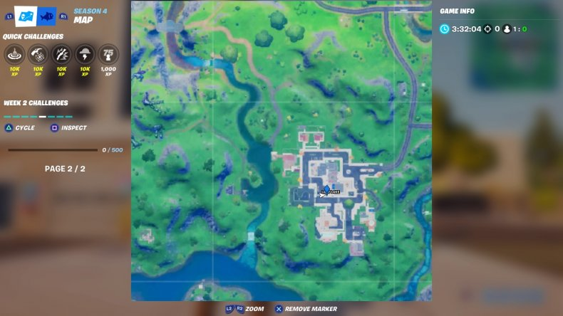 fortnite 2020 birthday cake location 10