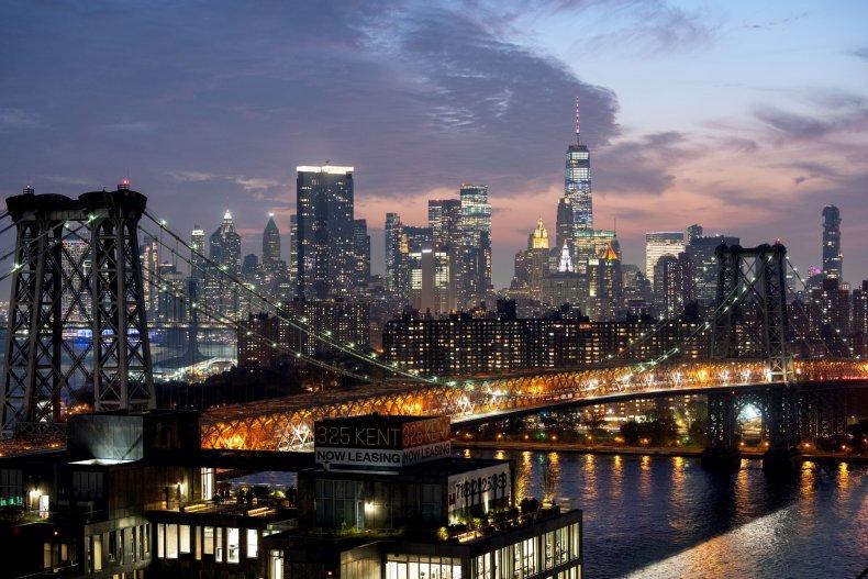 NYC Skyline Sept 25