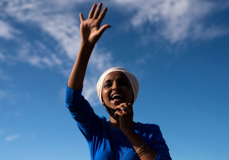 Ilhan Omar Campaigns in Minnesota