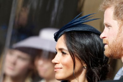 Meghan Markle, Prince Harry, Princess Eugenie's Wedding