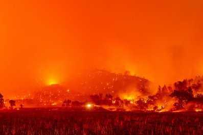 Glass Fire Napa County California 2020