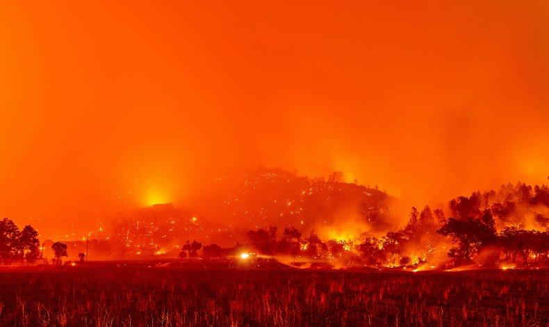 Glass Fire Napa County California 2020