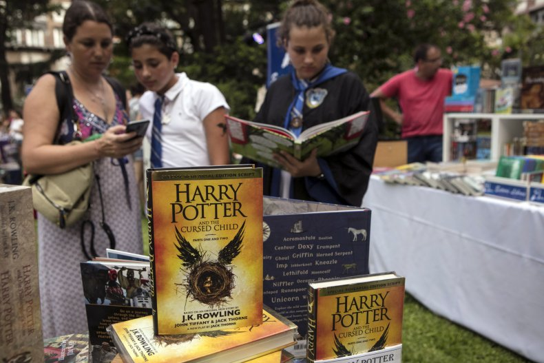 Trans Woman Born 'Harry Potter' Changes Her