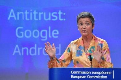 European Union Competition Commissioner Margrethe Vestager