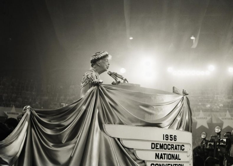 1956: First televised presidential debate for the two nominees