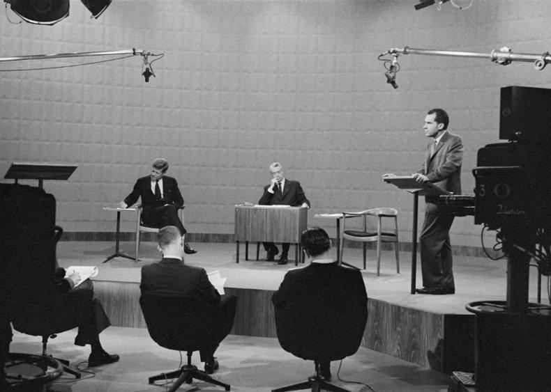1960: The famous Kennedy-Nixon televised debates