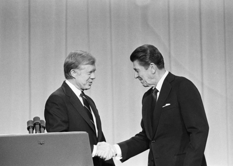 1980: Carter fails to land at his one debate