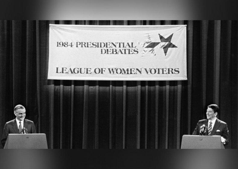 1984: Joint veto of nearly 100 debate panelists