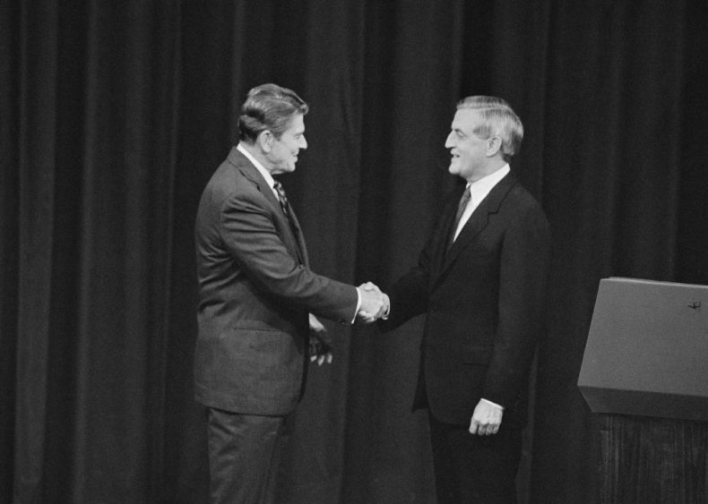 1984: Emphasis on Reagan's age