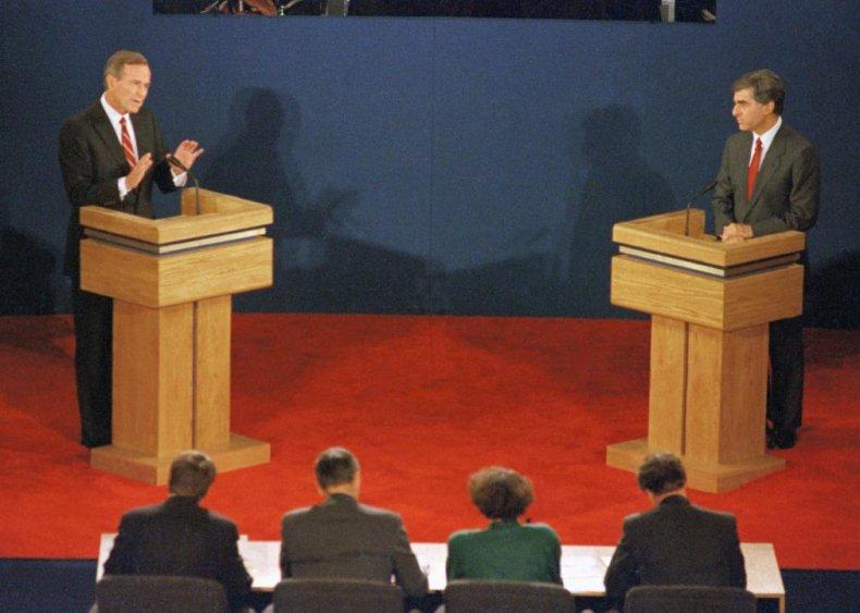 1988: Bush and Dukakis draft secret document