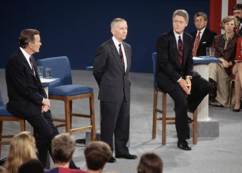 1992: Debates buoy Ross Perot