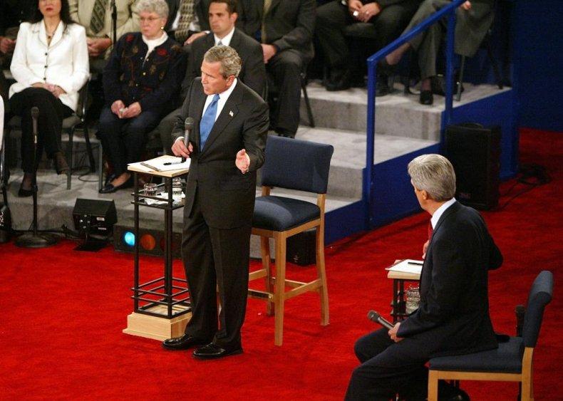 2004: TV networks ditch decorum, offer reaction shots