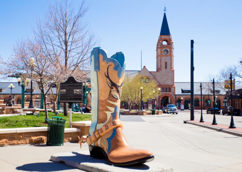 #50. Cheyenne, Wyoming