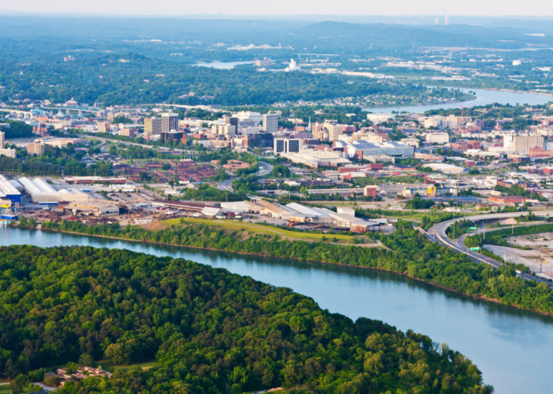 #45. Chattanooga, Tennessee