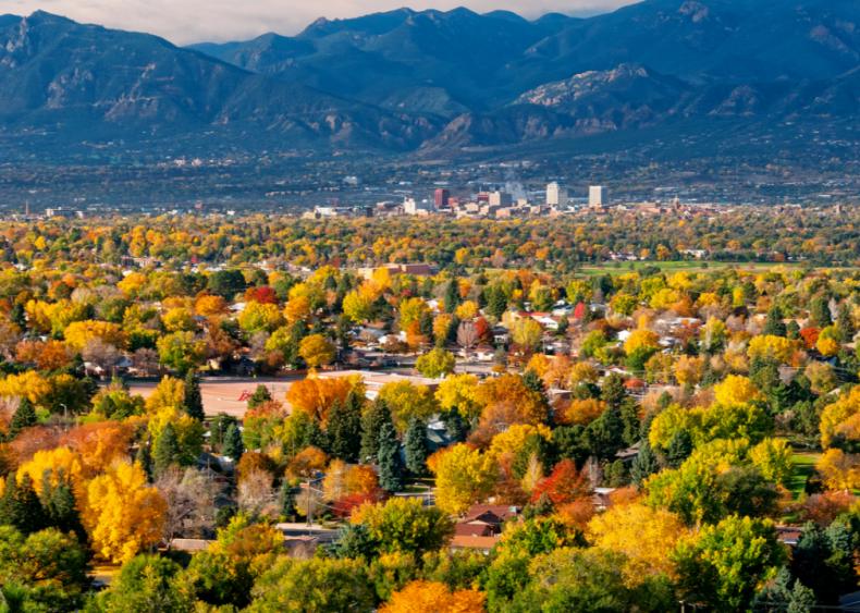 #35. Colorado Springs, Colorado