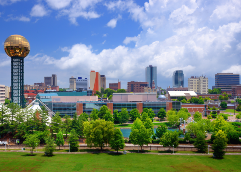 #20. Knoxville, Tennessee