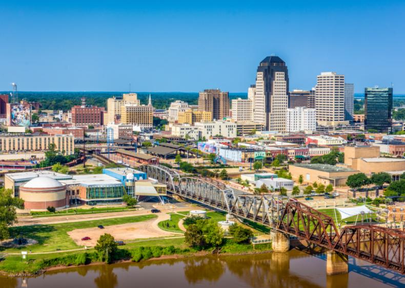 #9. Shreveport, Louisiana