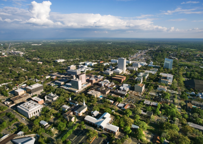 #6. Tallahassee, Florida