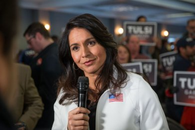Rep. Tulsi Gabbard  Answers Media Questions