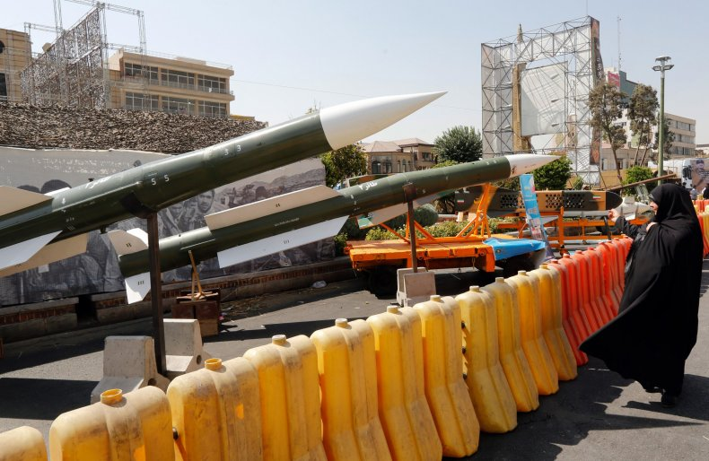 Iran, new, ballistic missile, naval, weapon