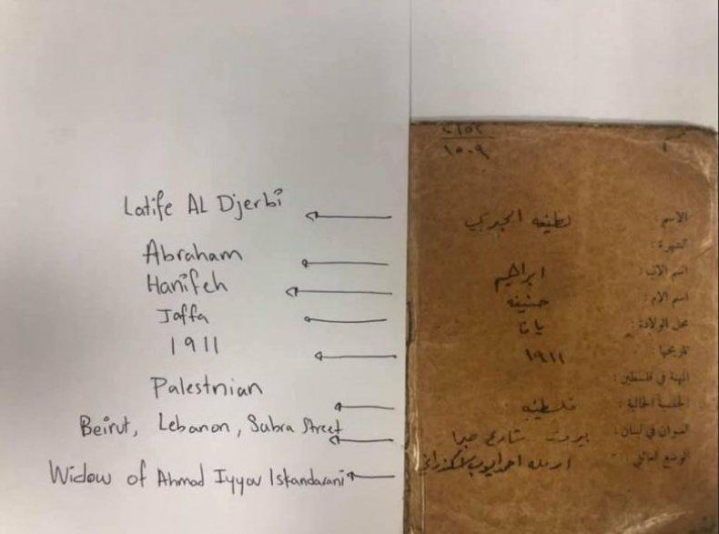 documents, passport, palestinian,