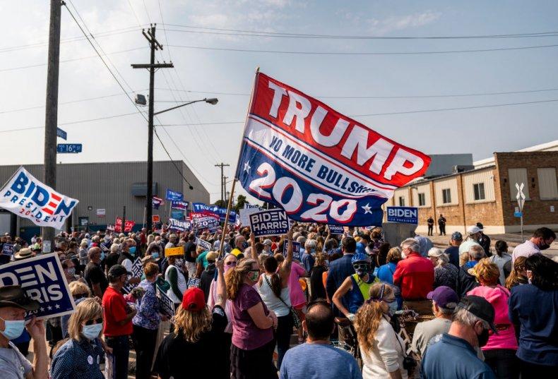 Biden Trump Supporters Wisconsin