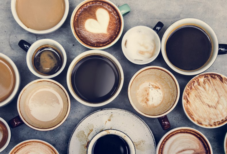 National Coffee Day cups shop