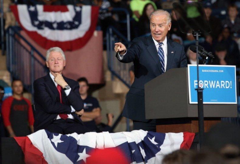 Biden Bill Clinton