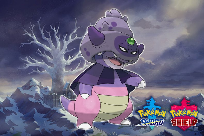 pokemon sword shield crown tundra galarian slowking