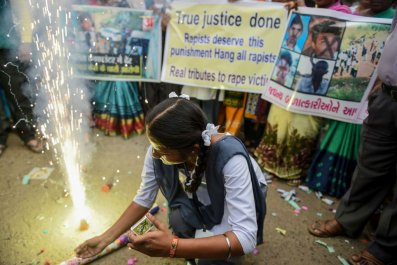 Protesters in India campaign against rape
