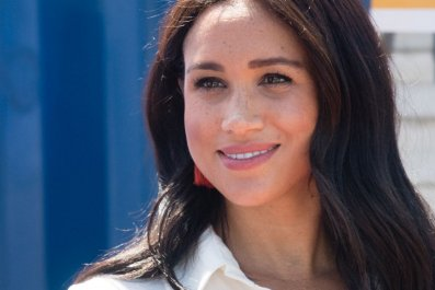 Meghan Markle in Tembisa Township, South Africa
