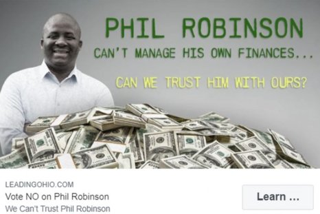 phil robinson ohio gop ad