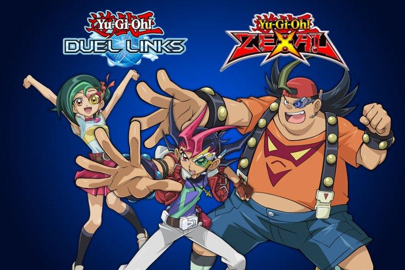 yugioh duel links zexal world unlock characters