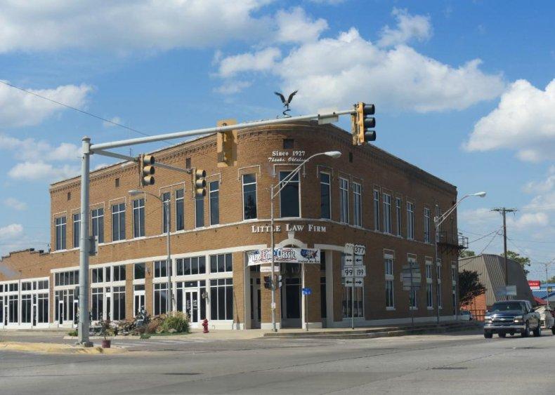 #66. Marshall County, Oklahoma