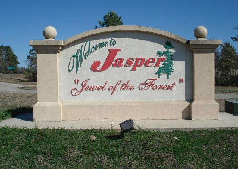 #54. Jasper County, Texas