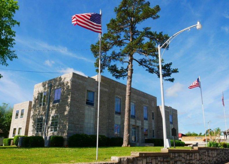 #44. Izard County, Arkansas