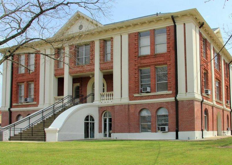 #18. Sabine County, Texas