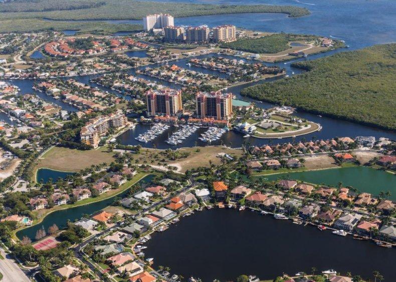 #4. Lee County, Florida