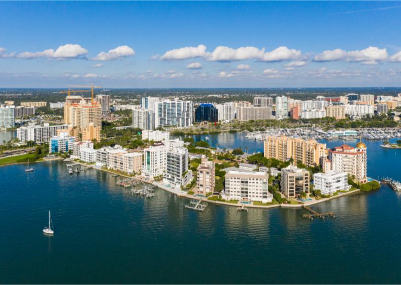 #1. Sarasota County, Florida