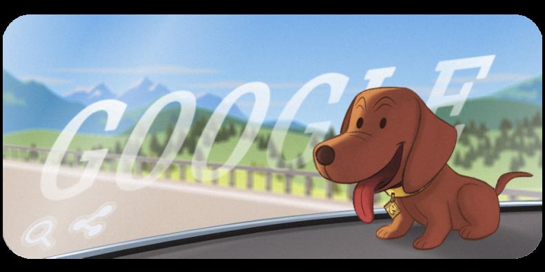 Wackeldackel Google Doodle