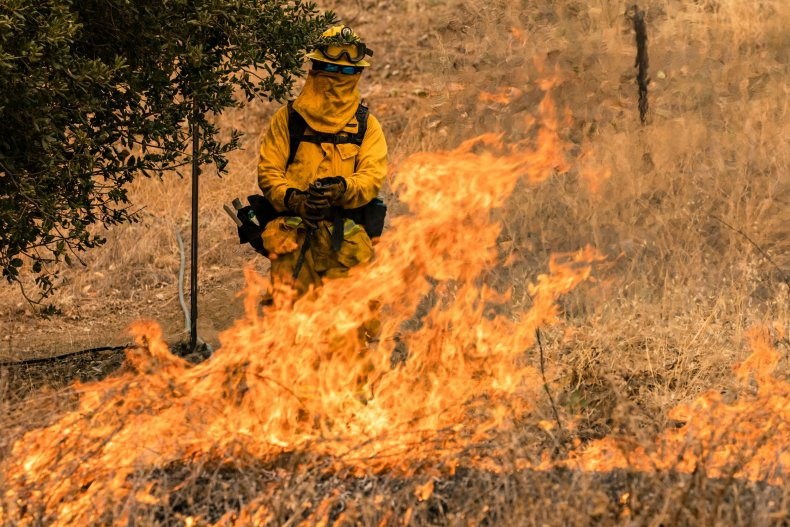 Glass Fire Napa Valley California September 2020