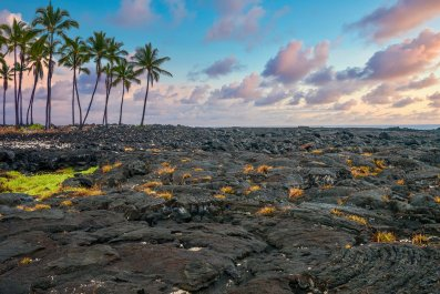 lava field, hawaii, stock, getty