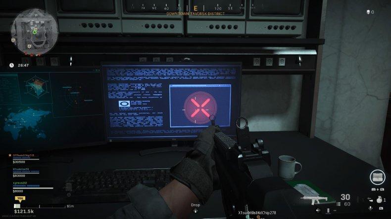 call duty warzone subway easter egg code
