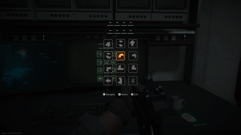 call duty warzone subway easter egg numbers