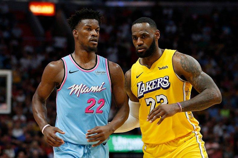 Los Angeles Lakers Miami Heat