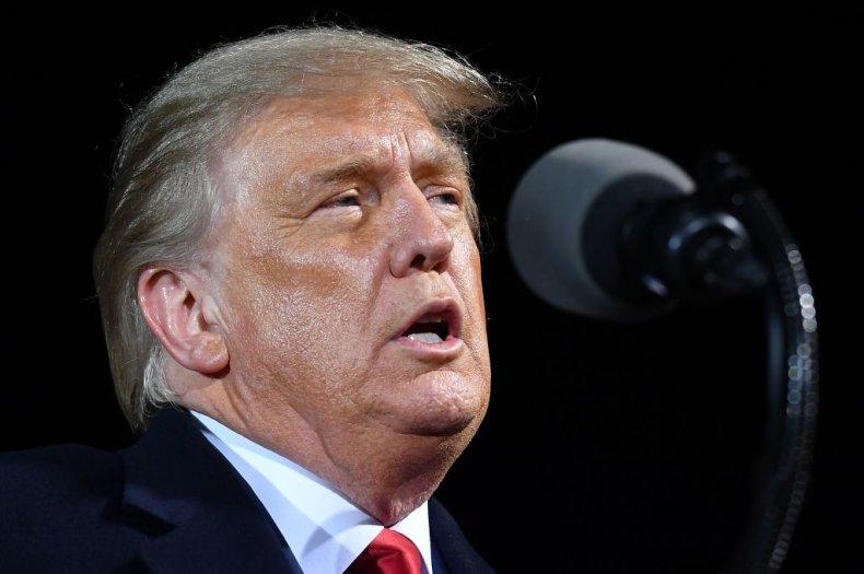 President Donald Trump in Minnesota