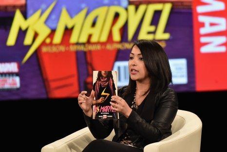 Ms. Marvel co-creator Sana Amanat